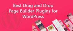 If we don't know how to code and don't have the time or resources to learn the skill. So here I'm giving you the best drag-and-drop theme builders. Download now: http://dealmirror.com/drag-and-drop-page-builder-plugins-for-wordpress/ Dealmirror.com Deals for Designers and Developers