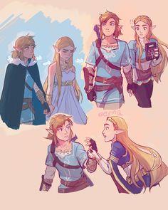 Legend Of Zelda Memes, Legend Of Zelda Breath, The Legend Of Zelda, Zelda Drawing, Image Zelda, Character Art, Character Design, Princesa Zelda, Nerd