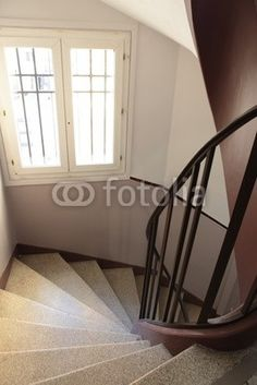 cage d'escalier Rocking Chair, Decoration, Stock Photos, Staircases, Furniture, Images, Home Decor, Staircase Pictures, Stairs