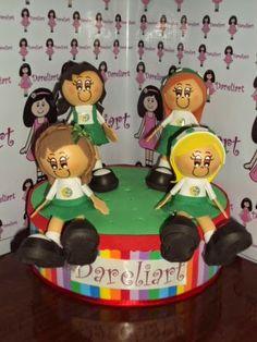 Dareliart: Bonecas Personalizadas - Encomenda da Lisangella