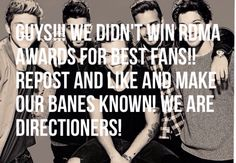 We should work together more and help win more awards for best fans because we are the best get on this level stop with all this drama