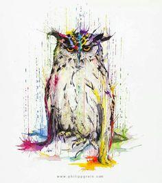 Owl by Philip Grein