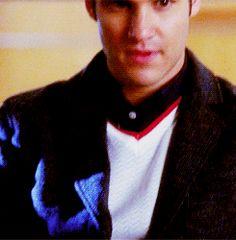 Blaine Anderson glee Darren Criss gif
