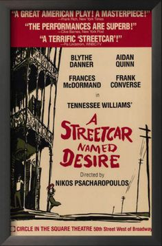 Broadway, Tennessee Williams, plays, theater
