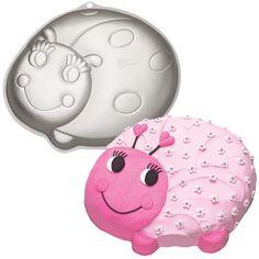 Ladybug Cake Pan #WILTON #BabyShower