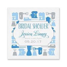 These napkins are perfect for your kitchen theme bridal shower. Personalized Napkins, Personalized Items, Event Marketing, Kitchen Themes, Wedding Napkins, Invitations, Party, Bridal Showers, Wedding Ideas