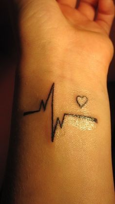Small Heart Tattoo Designs Wrist