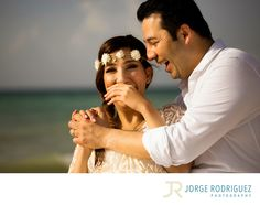 Jorge Rodriguez Photography - Destination Wedding Photography & Portrait based in Playa del Carmen, covering Tulum, Cozumel, Isla Mujeres, Cancun & Riviera Maya Mexico  - Engagement Photographer Grand Sunset Princess: Samira & Farzan planned their weekend holidays at Grand Sunset Princess, they were so sad because we were about to cancel the engagement session due a big storm was passing by Playa del Carmen, we agreed to meet only if the rain stops or we must cancel it. So I phoned them…