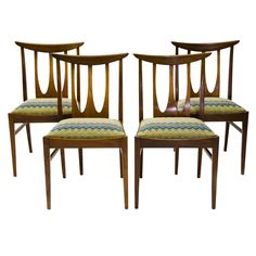 British 1960s Set of G-Plan Dining Chairs | From a unique collection of antique and modern dining room chairs at https://www.1stdibs.com/furniture/seating/dining-room-chairs/ set of 4 $634.60