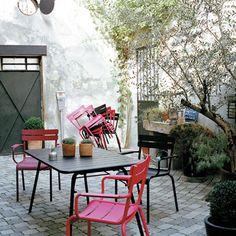 mobilier de jardin Fermob pour la terrasse