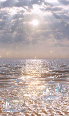 Glittery Ocean