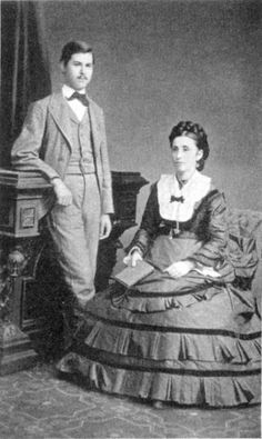 1874 - Amalia Freud et Sigmund Freud Freud.