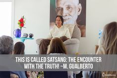 "The value of these meetings is exactly this: you cannot fool me because I know who You Are! This is called Satsang: the encounter with the Truth! Master Gualberto  ""Isso chama-se Satsang: o encontro com a Verdade!""  O valor desses encontros está exatamente nisto: você não pode me enganar porque eu sei quem Você É! Isso chama-se Satsang: o encontro com a Verdade! Mestre Gualberto   #ramanashramgualberto #mestregualberto #satsang #ramana #ramanamaharshi #bhagavan #presentmoment #selfawareness…"