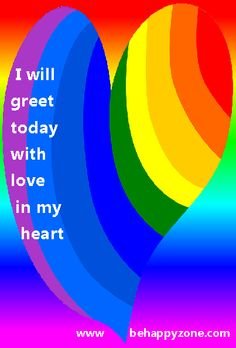 I will greet the day