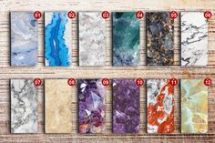 iphone 6 wallet case marble white zip pocket by vistacasecover