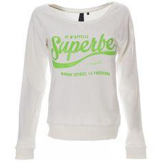 Sweater Superbe - White