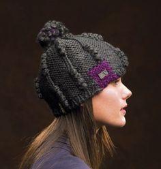 Nobis Farah gunmetal wooly hat