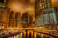 Chicago bridge Searing City  Chicago Cityscapes – Urban Photography by Luke Strothman
