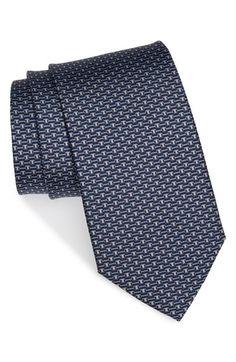 Salvatore Ferragamo Geometric Print Silk Tie available at #Nordstrom