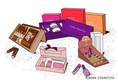 Paper Boxes - Aurora Cosmetics: Contract Color Cosmetics Manufacturer