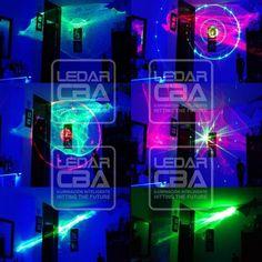 Combo Laser Hl 60 Luz Negra + Mini Flash Led Audioritmicos