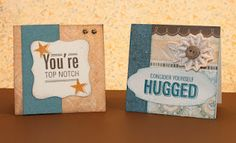3x3 cards by Rebecca... with Feb 2012 SOTM