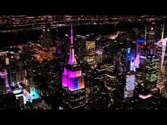 Watch the Empire State Building Imitate Famous Paintings with Light | The Creators Project