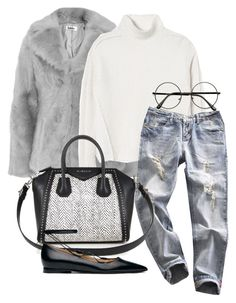 """""""Untitled #1472"""" by emmalovesclothes20 ❤ liked on Polyvore featuring Rebecca Taylor, Givenchy and Michael Kors"""
