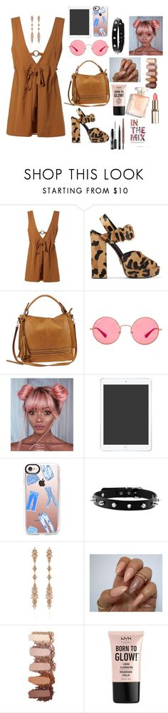 """in the MIX"" by megi-queen on Polyvore featuring Prada, Urban Expressions, Ray-Ban, Casetify, Fernando Jorge, NYX and MAC Cosmetics"