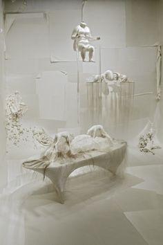 Lin Tianmiao Installation at the Asia Society