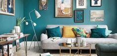 Una casa que apuesta por los tonos verdes - http://www.decoora.com/una-casa-que-apuesta-por-los-tonos-verdes/