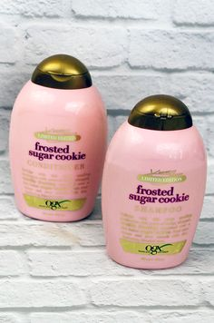 OGX Frosted Sugar Cookie Shampoo and Conditioner R Ogx Shampoo, Good Shampoo And Conditioner, Hair Shampoo, Sugar Cookie Frosting, Best Shampoos, Natural Hair Care, Natural Skin, Natural Beauty, Bridal Hair
