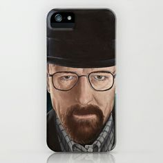 Walter White iPhone & iPod Case by Lauri Loewenberg - $35.00