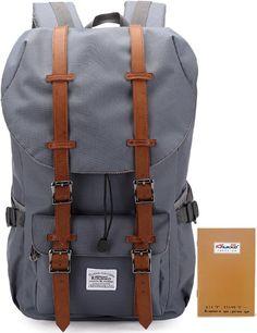 KAUKKO wasserdicht Laptop Rucksack Wanderrucksack mit großer Kapazität Grau: Amazon.de: Koffer, Rucksäcke & Taschen
