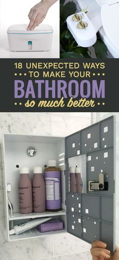 18 Unexpected Ways To Make Your Bathroom So Much Better