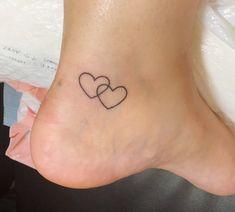 Hearts Tattoo Sticker - Tattoo - Hearts Sticker - Two heart tattoo – Tattoo – -Two Hearts Tattoo Sticker - Tattoo - Hearts Sticker - Two heart tattoo – Tattoo – - Temporary Tattoo Hearts Waterproof Ultra Thin Fake Tattoos Bff Tattoos, Infinity Tattoos, Best Friend Tattoos, Mini Tattoos, Couple Tattoos, Body Art Tattoos, Small Tattoos, In Memory Tattoos, Garter Tattoos