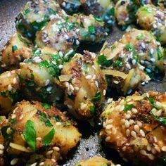 Gujarati potatoes (He Needs Food) indian food recipes Indian Veg Recipes, Gujarati Recipes, Asian Recipes, Indian Foods, Vegetarian Cooking, Vegetarian Recipes, Cooking Recipes, Cooking Tips, Gujarati Cuisine