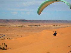 جوهرة الصحراء تيميمون، والتحليق بالمظلات فوق واحاتها الحمراء. | Flickr - Photo Sharing!