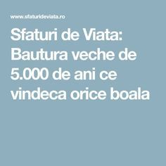 Sfaturi de Viata: Bautura veche de 5.000 de ani ce vindeca orice boala Orice, How To Get Rid, Health Fitness, Natural, The Body, Alcohol, Plant, Health And Fitness, Nature