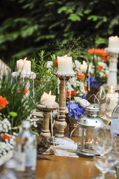 Rustic Summer Wedding @ Müllers Heuriger & Weingut. Best Memories, Candles, Entertaining, Lights, Table Decorations, Party, Summer, Chic, Invitations
