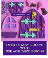 Fairy door, fairy window fairy house, fairy mould, door mold, window mold, free worldwide shipping