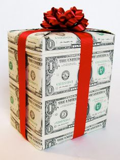 """Alton On The Spot: """"Cash Wrap"""" ~ perfect for a teen boy gift. lol for my bro"""