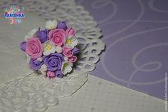 Как сделать прекрасное кольцо с цветами из полимерной глины - Ярмарка Мастеров - ручная работа, handmade