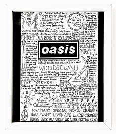Banda Oasis, Oasis Quotes, Oasis Lyrics, Oasis Album, Oasis Live, Blossoms Band, Oasis Band, Rock Band Posters, Band Wallpapers