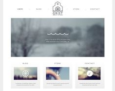 Clean, simple web design — Designspiration