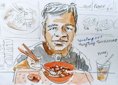 Tung Tong lunch time sketch | Flickr - Photo Sharing!