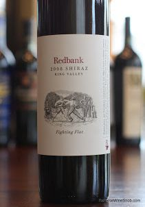 Redbank Fighting Flat King Valley Shiraz 2008 - Strike It Rich. Rich and spicy, that is. A great wine for the start of fall weather! http://www.reversewinesnob.com/2013/09/redbank-fighting-flat-king-valley-shiraz.html