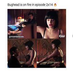 bughead 2x14 ❤️ Dark Betty is back?