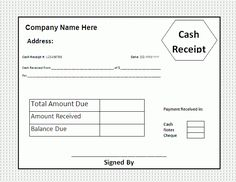 Payment Receipts Format Proof Of Payment Receipt Template : Cash Receipt  For Payment .  Proof Of Payment Receipt