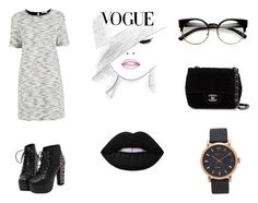 """""""Vogue"""" by mrgrdsantos ❤ liked on Polyvore featuring Oasis, Chanel, ZeroUV, Marc Jacobs and Lime Crime"""